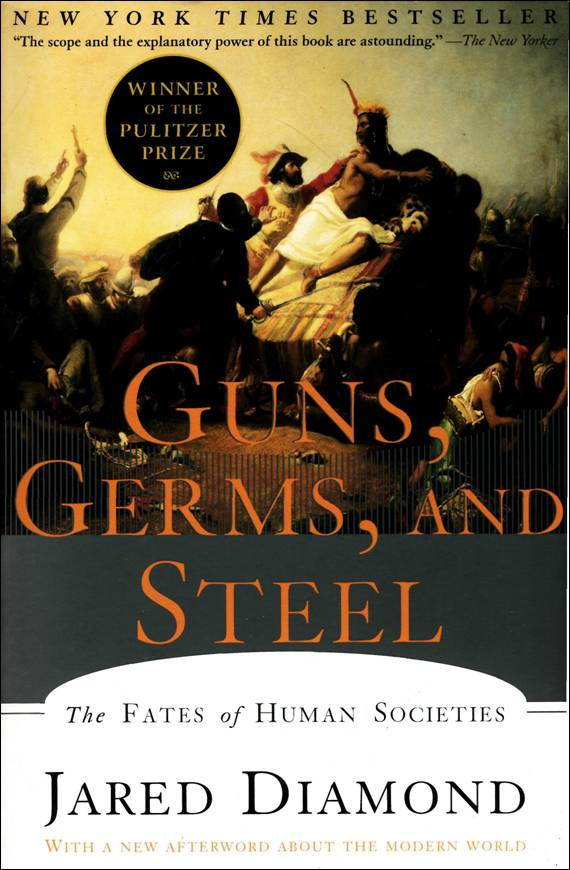 Nonfiction book group – guns germs and steel