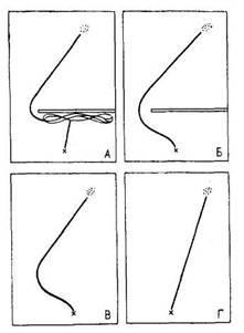 Это второе воздействие связано...  Рис. 6. Схема опытов с рыбами (А. В. Запорожец, И. Г. Диманштейн) .